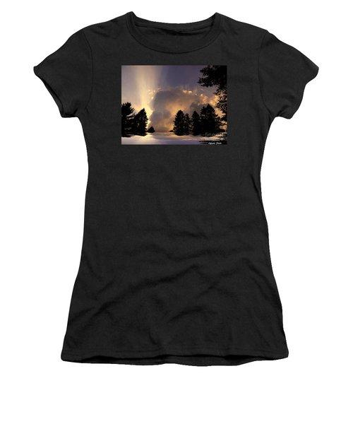 The Cloud Women's T-Shirt (Athletic Fit)