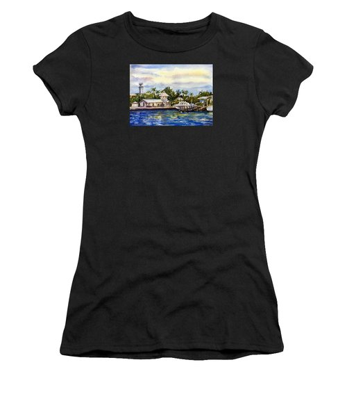The Coast Of Nassau Women's T-Shirt (Athletic Fit)