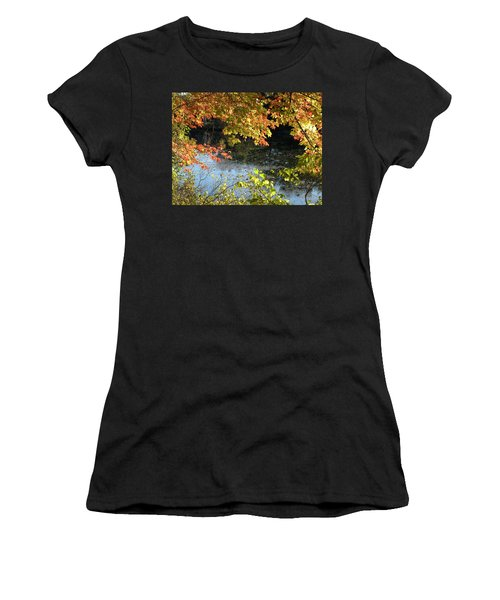 The Colors Of Fall Women's T-Shirt (Athletic Fit)