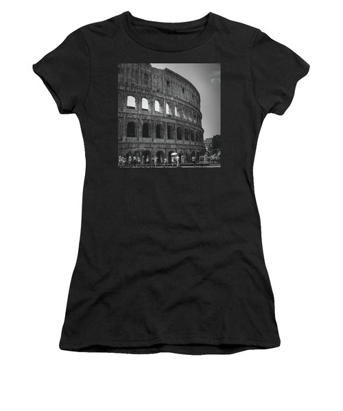 The Colosseum, Rome Italy Women's T-Shirt