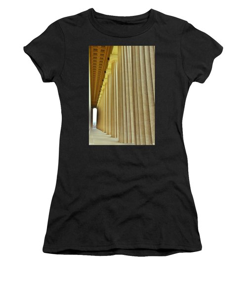 The Columns At The Parthenon In Nashville Tennessee Women's T-Shirt