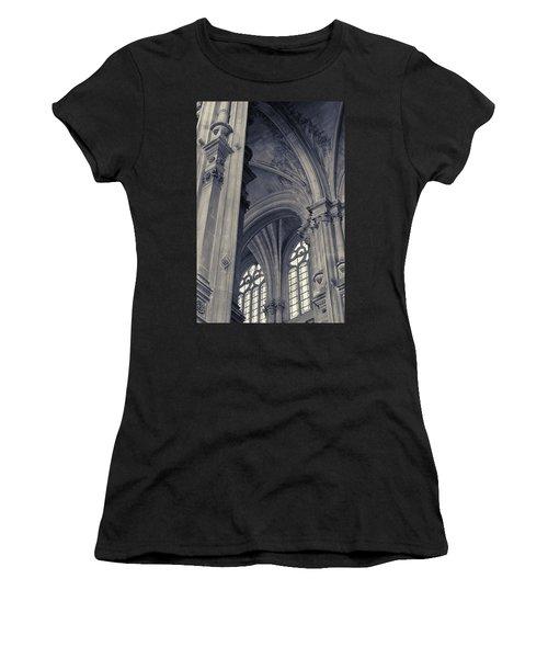 The Columns Of Saint-eustache, Paris, France. Women's T-Shirt