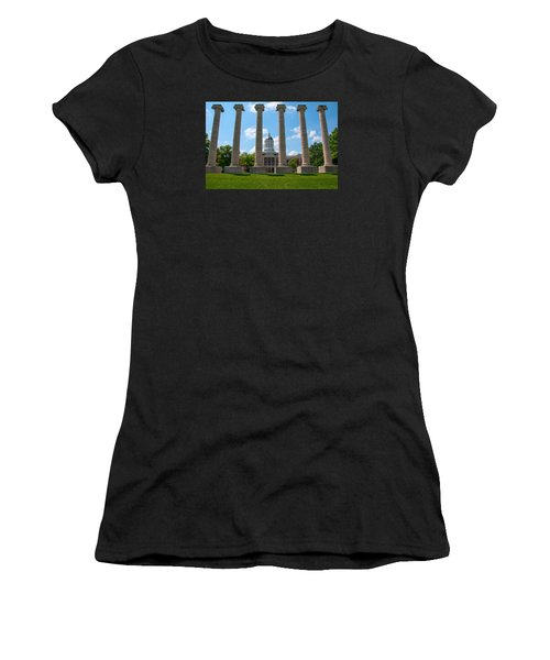 The Columns Women's T-Shirt (Athletic Fit)