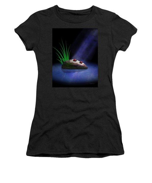 The Conversation Women's T-Shirt (Athletic Fit)