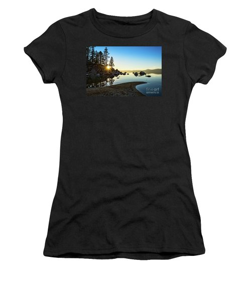 The Cove At Sand Harbor Women's T-Shirt