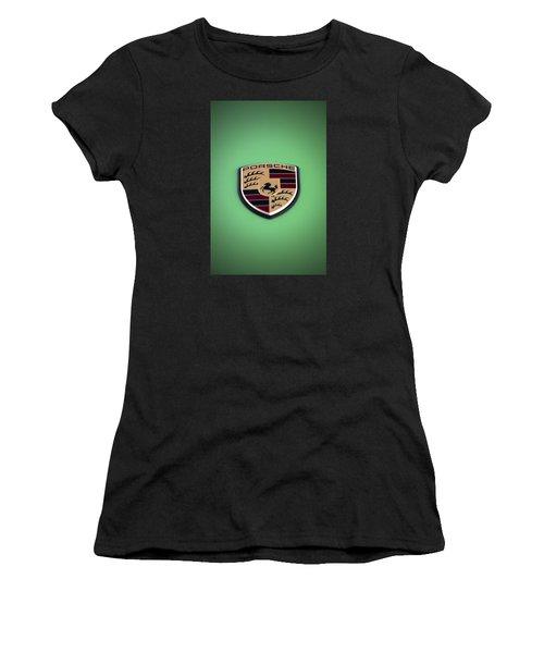 The Crest Women's T-Shirt (Athletic Fit)
