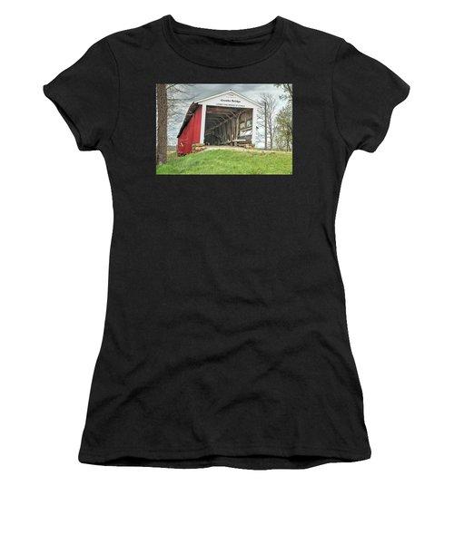 The Crooks Covered Bridge Women's T-Shirt