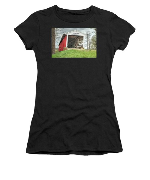 The Crooks Covered Bridge Women's T-Shirt