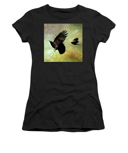 The Crow And The Blackbird Women's T-Shirt
