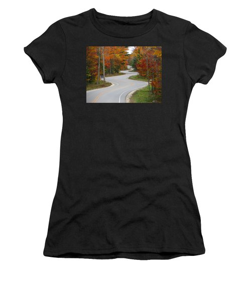 The Curvy Road Women's T-Shirt