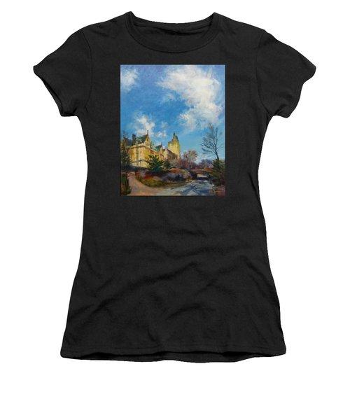 The Bridle Path, Central Park Women's T-Shirt (Athletic Fit)
