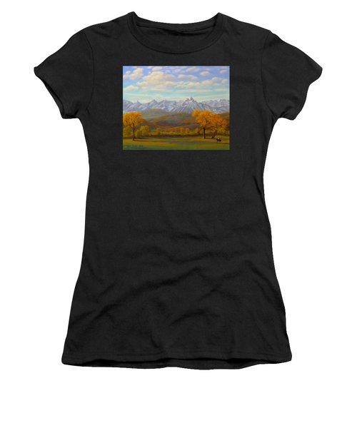 The Dallas Divide Women's T-Shirt (Athletic Fit)