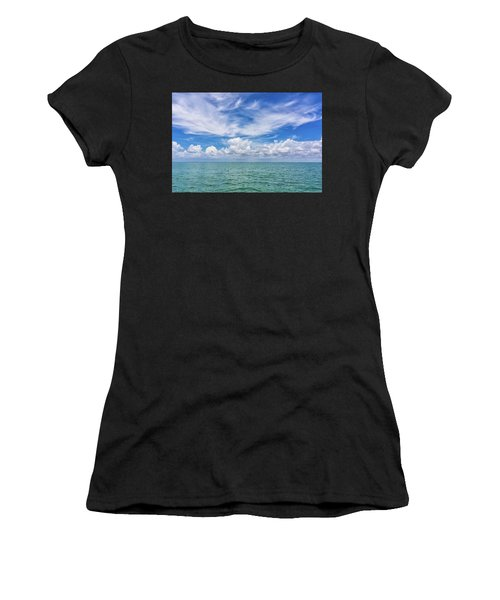 The Dance Of Clouds On The Sea Women's T-Shirt