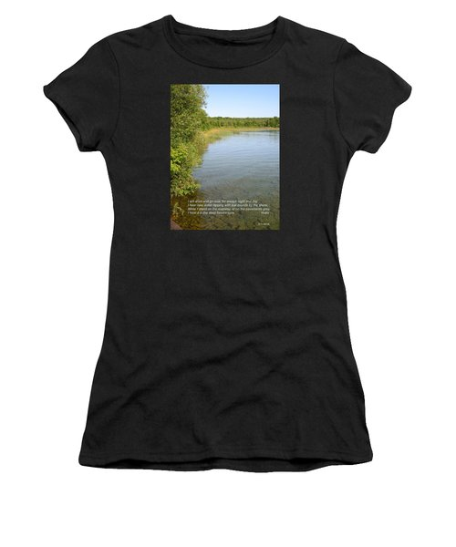 The Deep Heart's Core Women's T-Shirt (Athletic Fit)