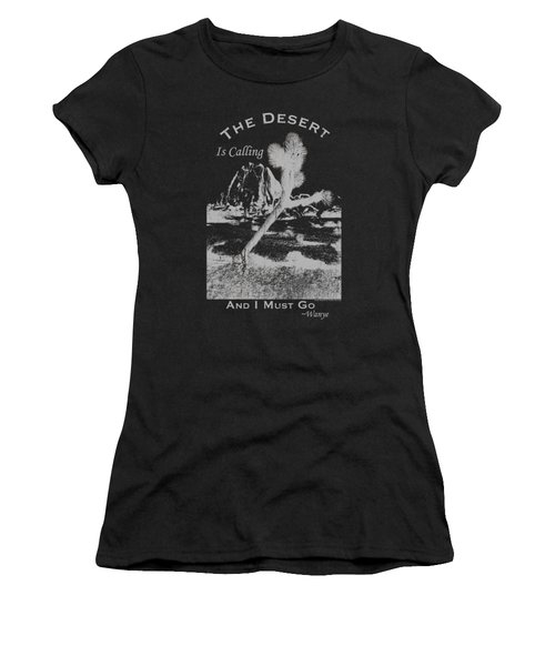 The Desert Is Calling And I Must Go - Gray Women's T-Shirt