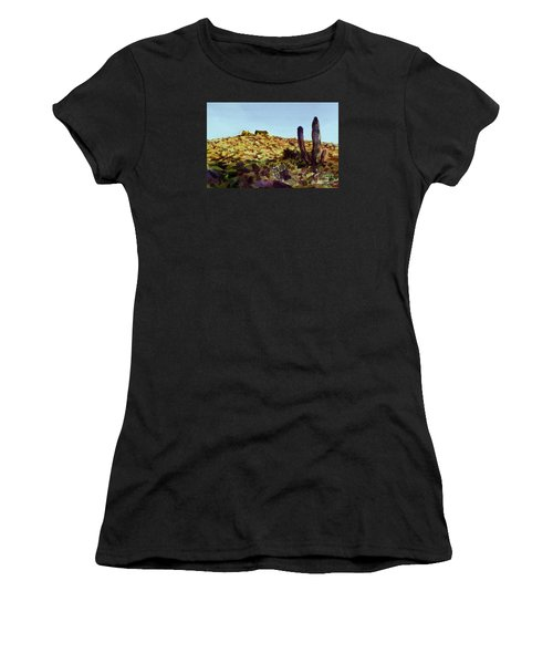 The Desert Place Women's T-Shirt (Athletic Fit)