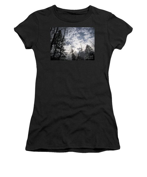 Women's T-Shirt (Junior Cut) featuring the photograph The Devic Pool 3 by Melissa Stoudt