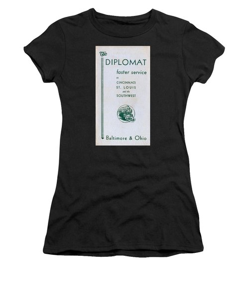 The Diplomat Women's T-Shirt (Athletic Fit)