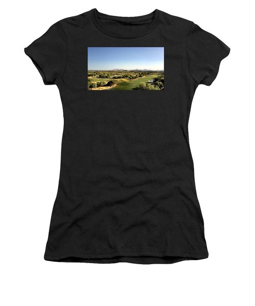 The Distance Women's T-Shirt (Athletic Fit)