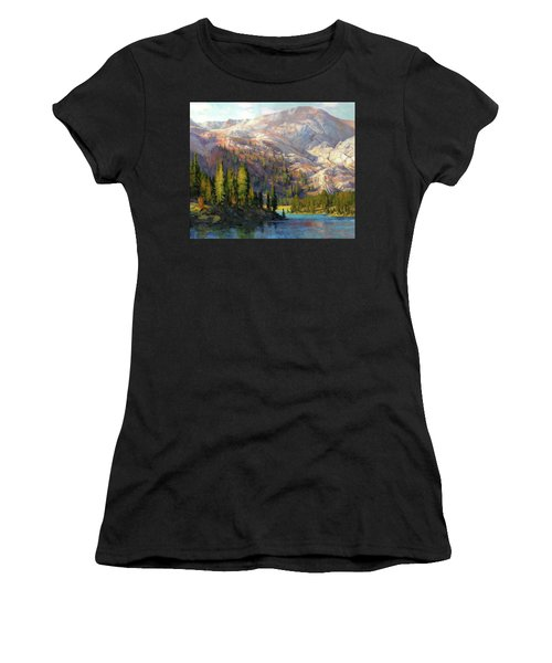 The Divide Women's T-Shirt (Athletic Fit)