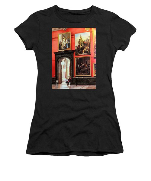 The Docent Women's T-Shirt (Athletic Fit)