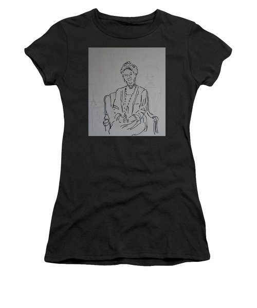 The Dowager Countess In Her Drawing Room At Dowton Abbey Women's T-Shirt