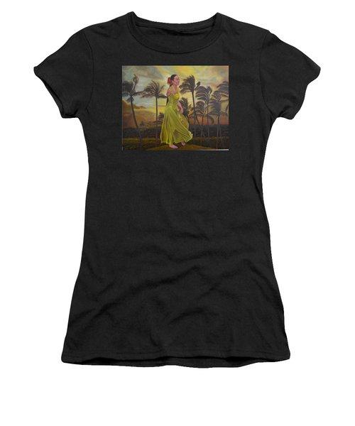 The Green Dress Women's T-Shirt