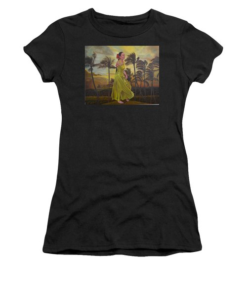 The Green Dress Women's T-Shirt (Athletic Fit)