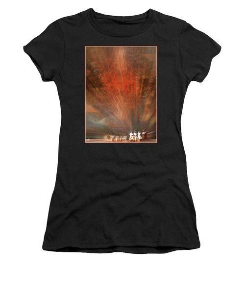 The Drumbeat Rising Women's T-Shirt (Athletic Fit)