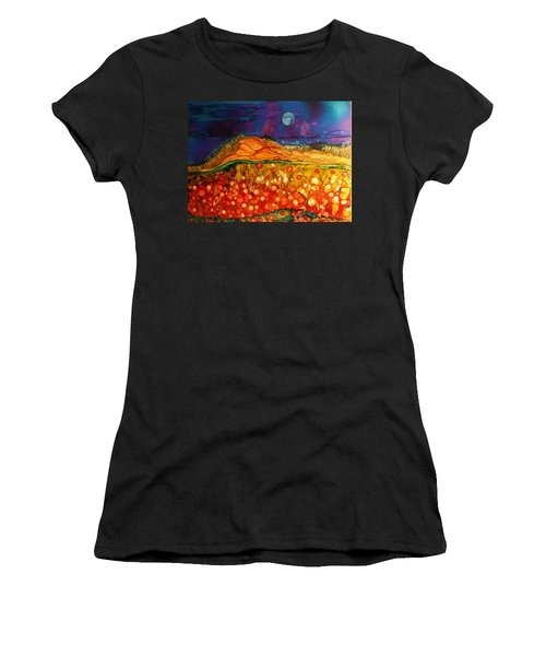 The Dunes At Night Women's T-Shirt