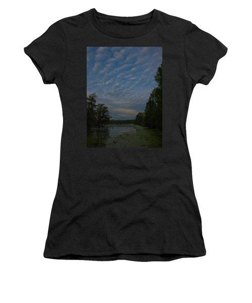 The Early Birds Women's T-Shirt (Junior Cut) by Kimo Fernandez