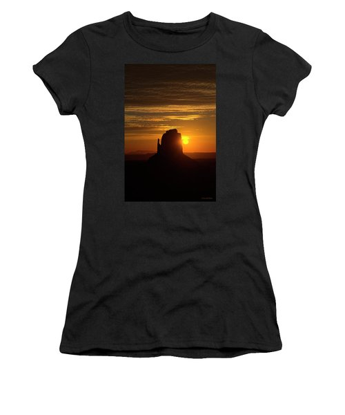 The Earth Awakes Women's T-Shirt (Athletic Fit)
