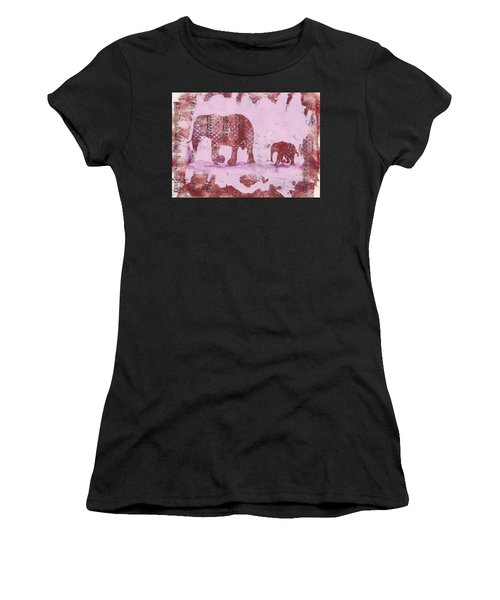 The Elephant March Women's T-Shirt