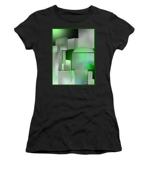 The Emerald City Women's T-Shirt (Athletic Fit)