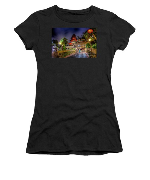The Enchanted Tiki Room Women's T-Shirt (Athletic Fit)