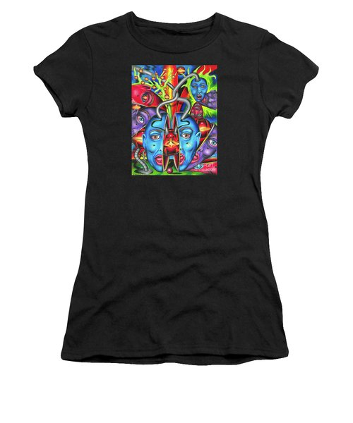 The Esoteric Force Of Molecular Mentality Women's T-Shirt