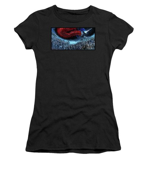 The Essence Of Time Matches No Flesh Women's T-Shirt