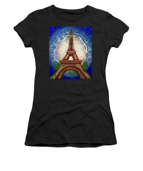 The Evening Of A Ready-wish Upon A Parisian High Point Women's T-Shirt (Athletic Fit)