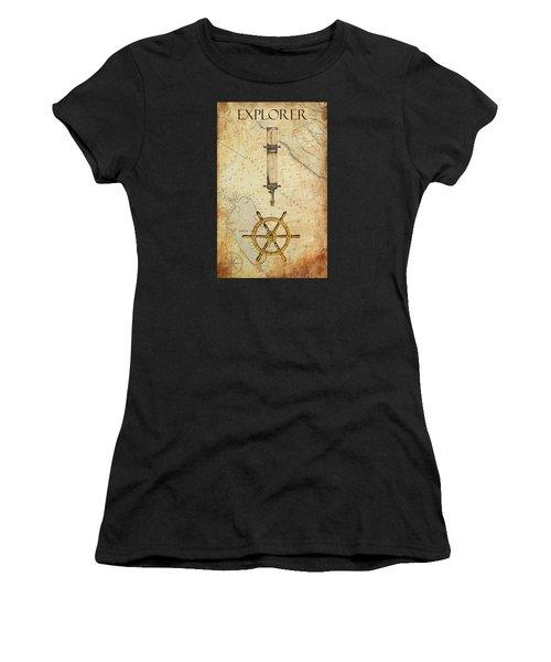 The Explorer Women's T-Shirt (Athletic Fit)