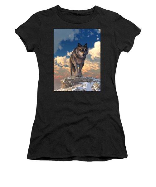 The Eyes Of Winter Women's T-Shirt