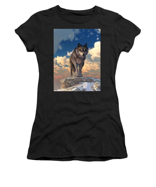 The Eyes Of Winter Women's T-Shirt (Athletic Fit)