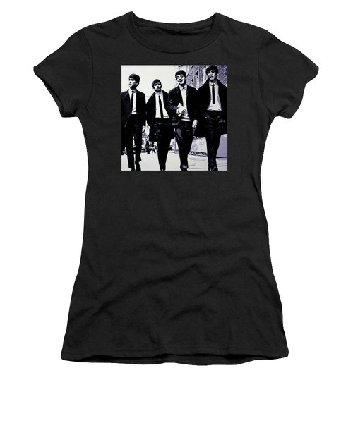 The Fab Four Women's T-Shirt (Athletic Fit)