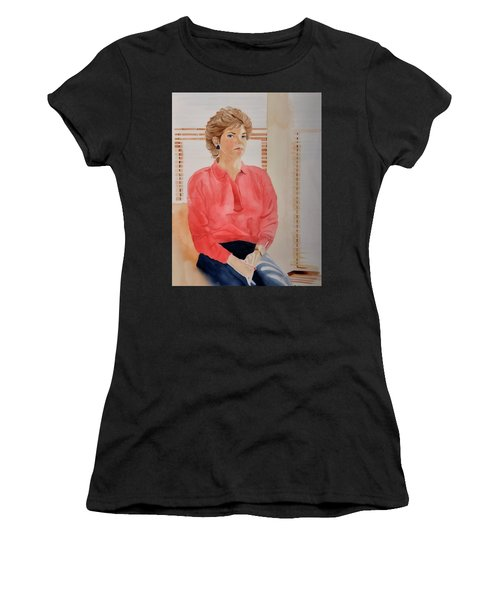 The Face Series - Pamela Women's T-Shirt (Athletic Fit)
