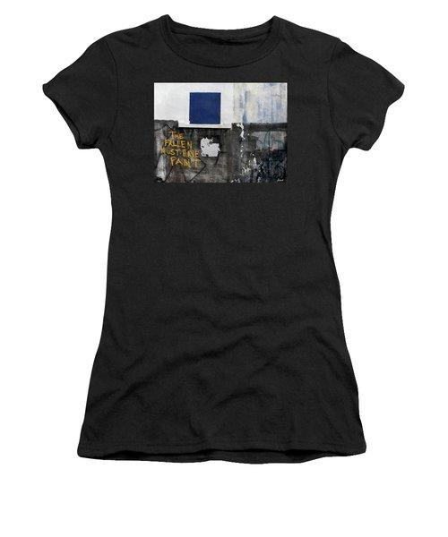 The Fallen Must Have Paint Women's T-Shirt (Junior Cut) by JoAnn Lense