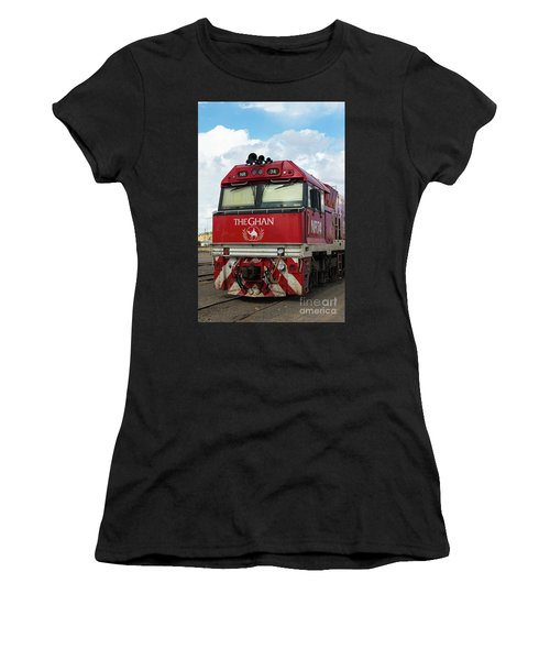 The Famed Ghan Train  Women's T-Shirt (Athletic Fit)