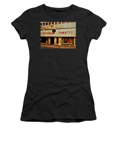 The Famous Beirut Picadilly Theater  Women's T-Shirt (Junior Cut) by Funkpix Photo Hunter