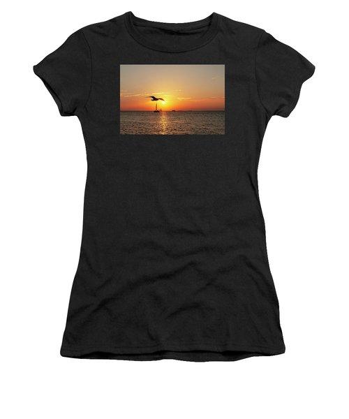 The Famous Key West Sunset  Women's T-Shirt