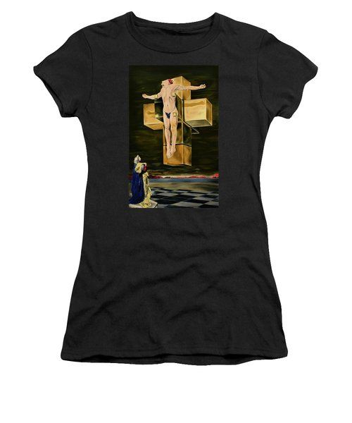 The Father Is Present -after Dali- Women's T-Shirt