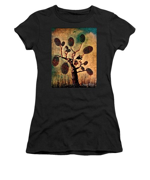The Fingerprints Of Time Women's T-Shirt (Athletic Fit)