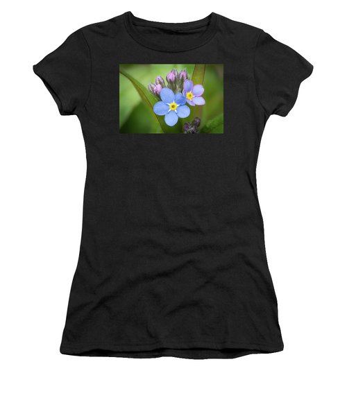 The First Blossom Of The Forget Me Not Women's T-Shirt